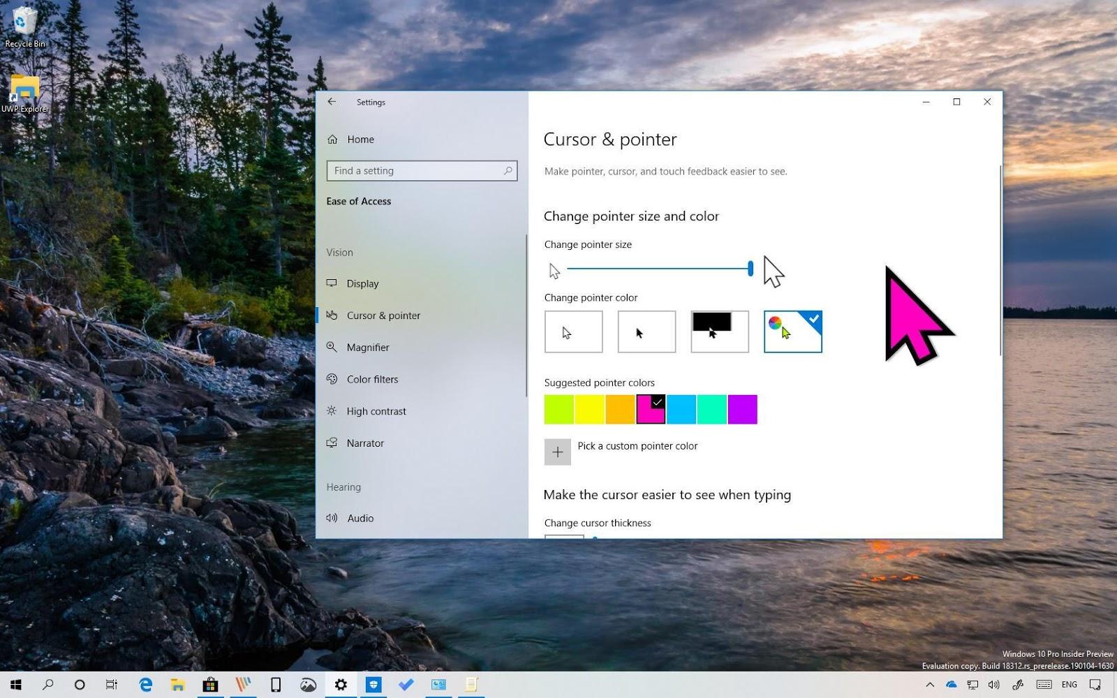 Impostare-dimensione-mouse-windows-10