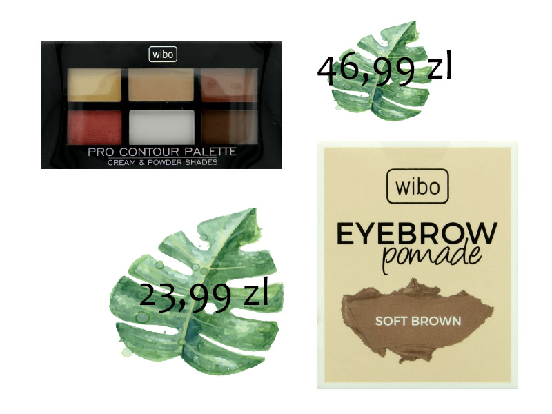 Pro Contour Palette, Wibo pomada do brwi, soft brown
