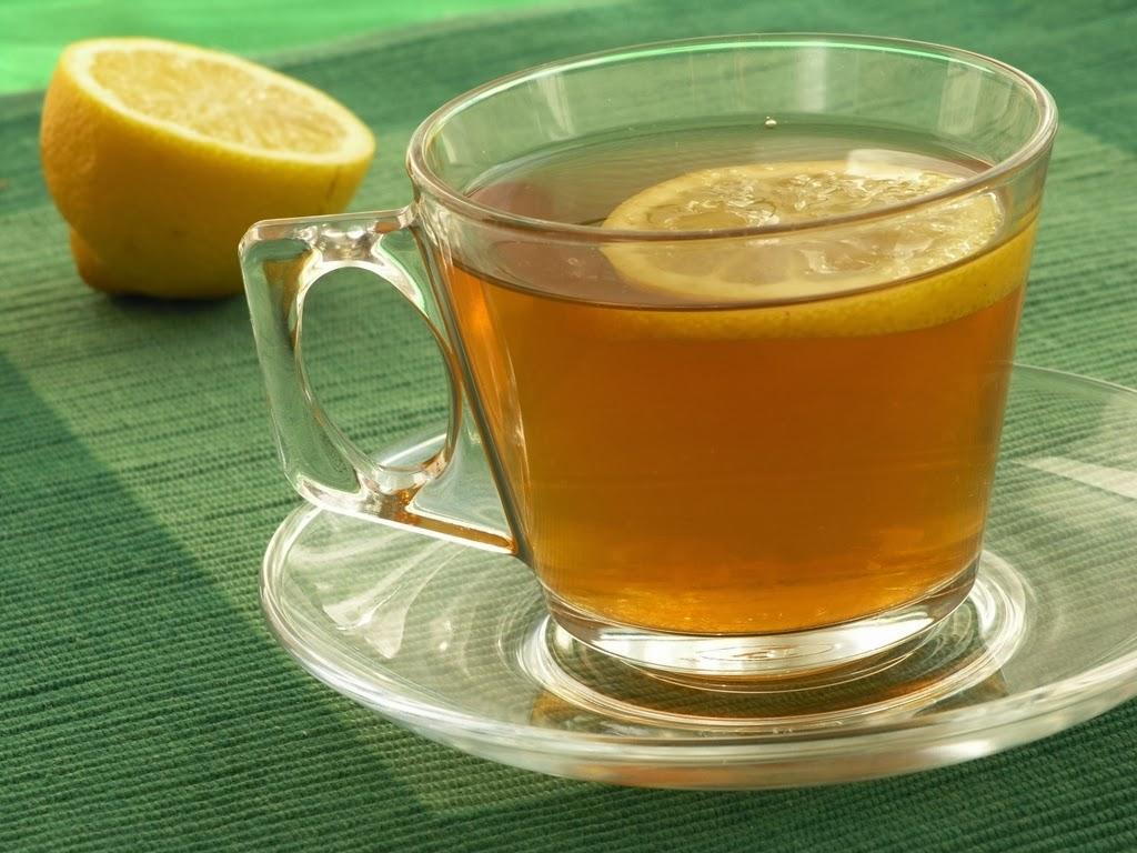 mengurangi berat badan lemon tea