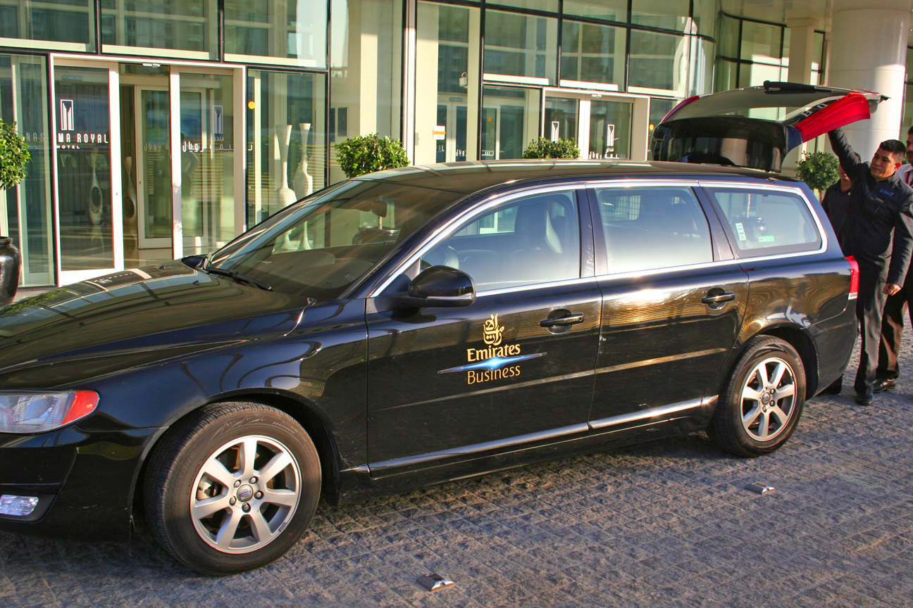 REVIEW: Emirates chauffeur drive service
