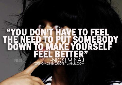 Nicki Minaj Pics With Quotes: Just Us...: Nicki Minaj Quotes