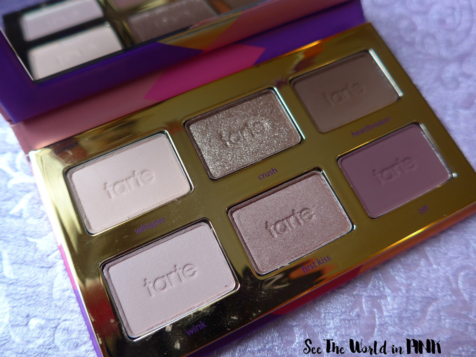 Tarte Tartelette Tease Eyeshadow Palette - Review, Swatches, and Makeup Looks