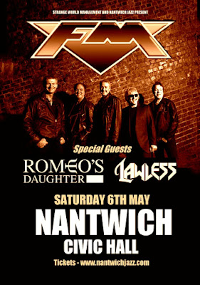 FM - Nantwich Civic Hall - Romeo's Daughter - 6 May 2017