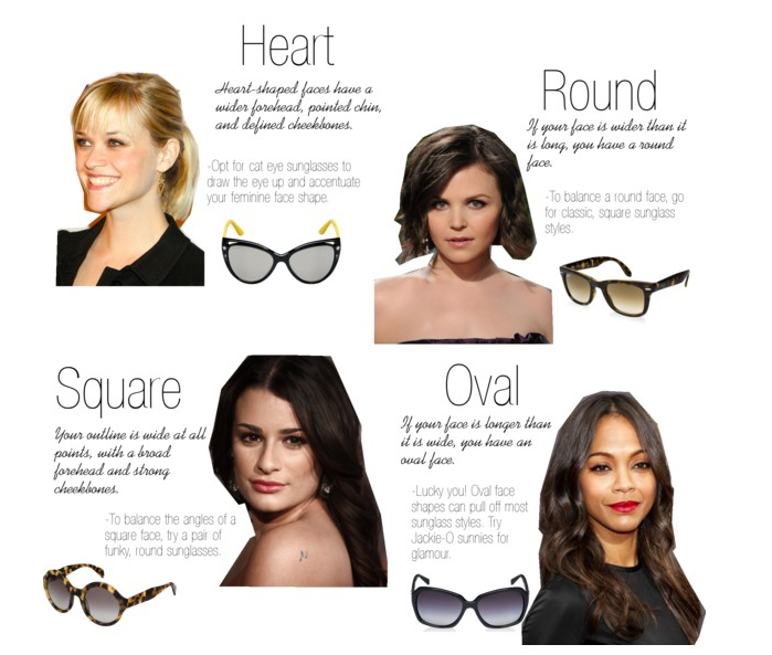 9425525ba0 On Miami Time  How to find the best sunglasses for your face shape