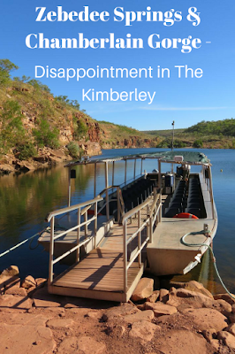 Zebedee Springs and Chamberlain Gorge in The Kimberley