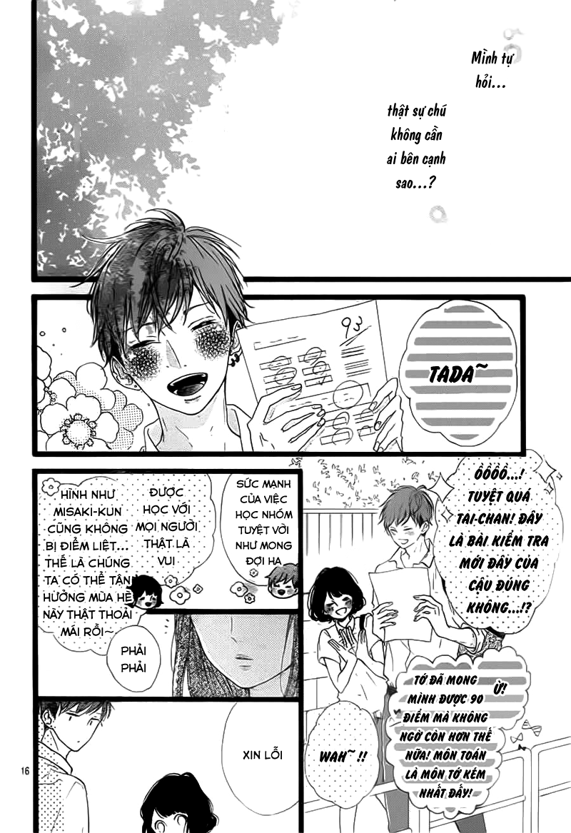 Honey (MEGURO Amu) chap 37 - Trang 18