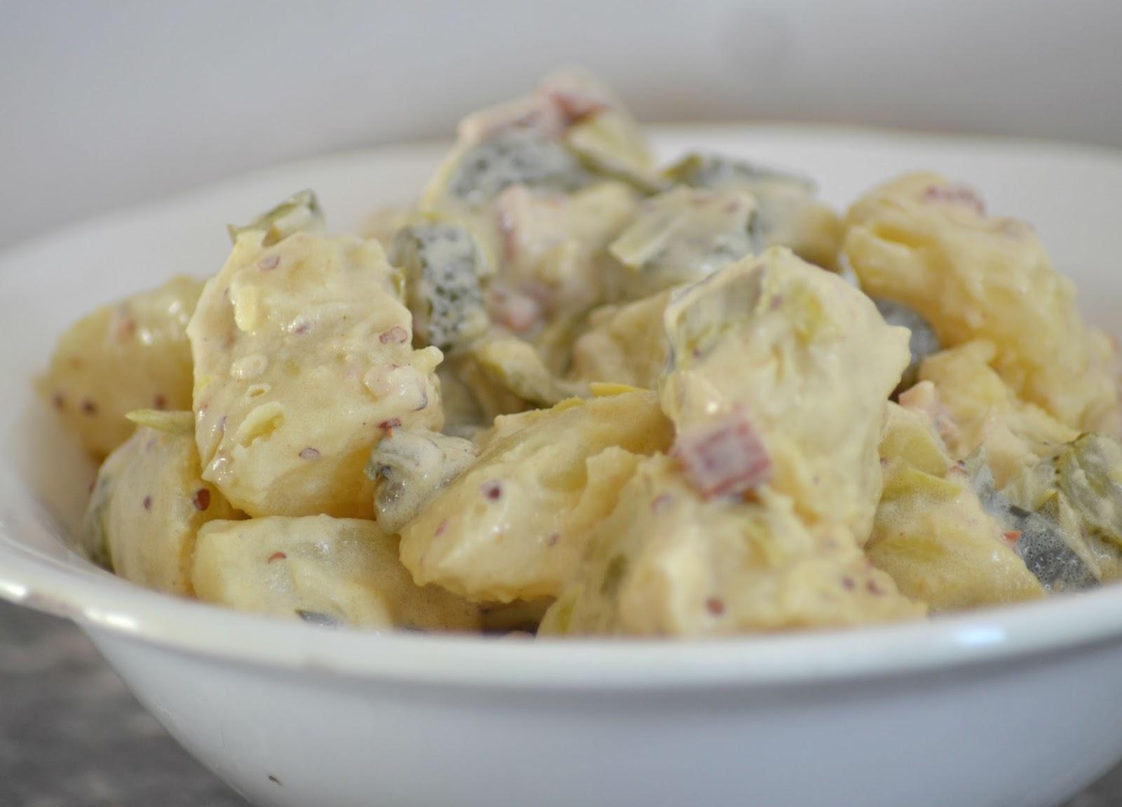 Zelf aardappelsalade maken