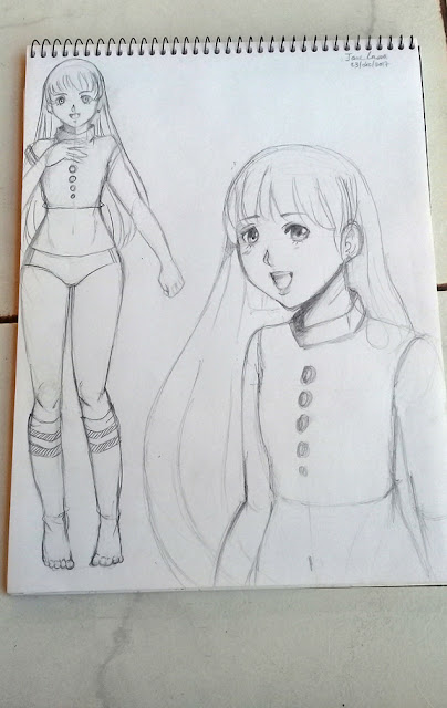 sketch de personaje