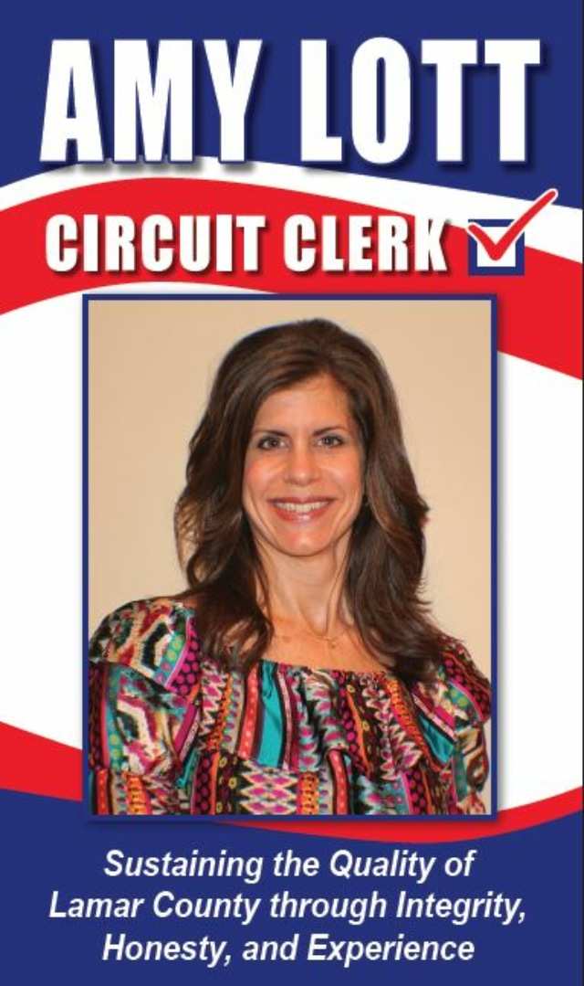 Amy Lott, Lamar County Circuit Clerk Candidate