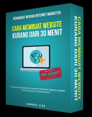 Cara Membuat Website Kurang dari 30 Menit