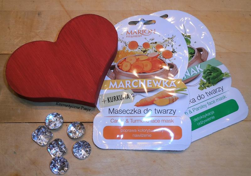 marion warzywna maseczka warzywne maseczki marchewka