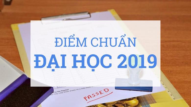 Điểm chuẩn đại học 2019