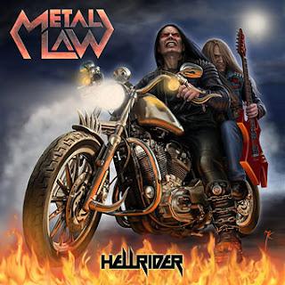 """Το τραγούδι των Metal Law """"Hellrider"""" από τον ομότιτλο δίσκο του Γερμανικού συγκροτήματος"""
