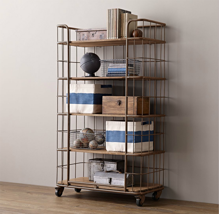 Restoration Hardware  Industrial storage