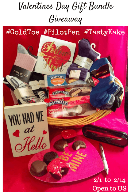 Enter the Valentines Day Gift Bundle Giveaway. Ends 2/14
