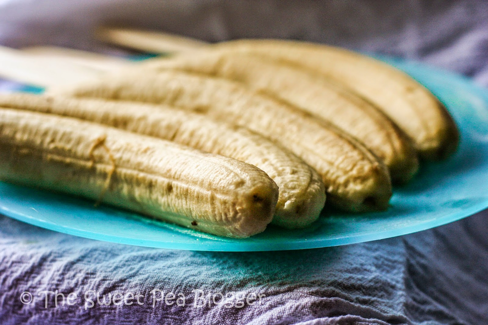Frozen Banana Stick Popsicles