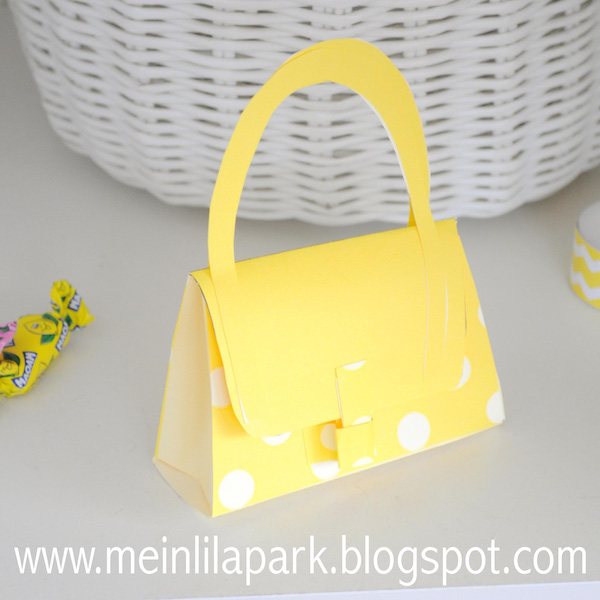 How To Make A Paper Purse Free Printable Box Ausdruckbare Geschenkschachtel Freebie
