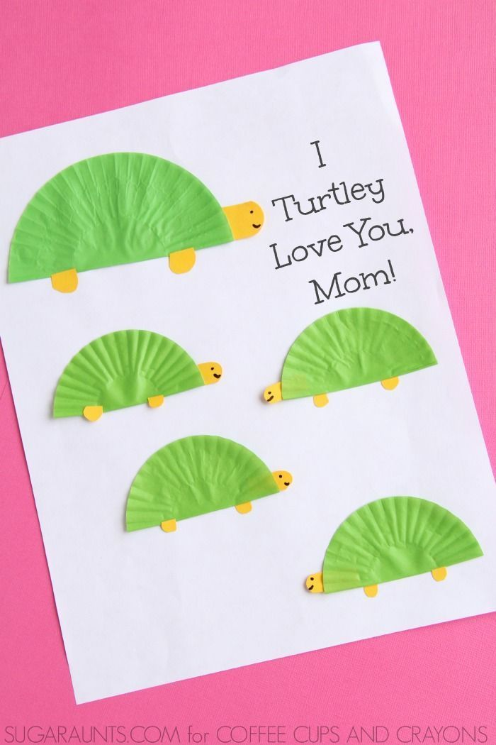 All-Purpose Check-Off Mother's Day Card & Crafts