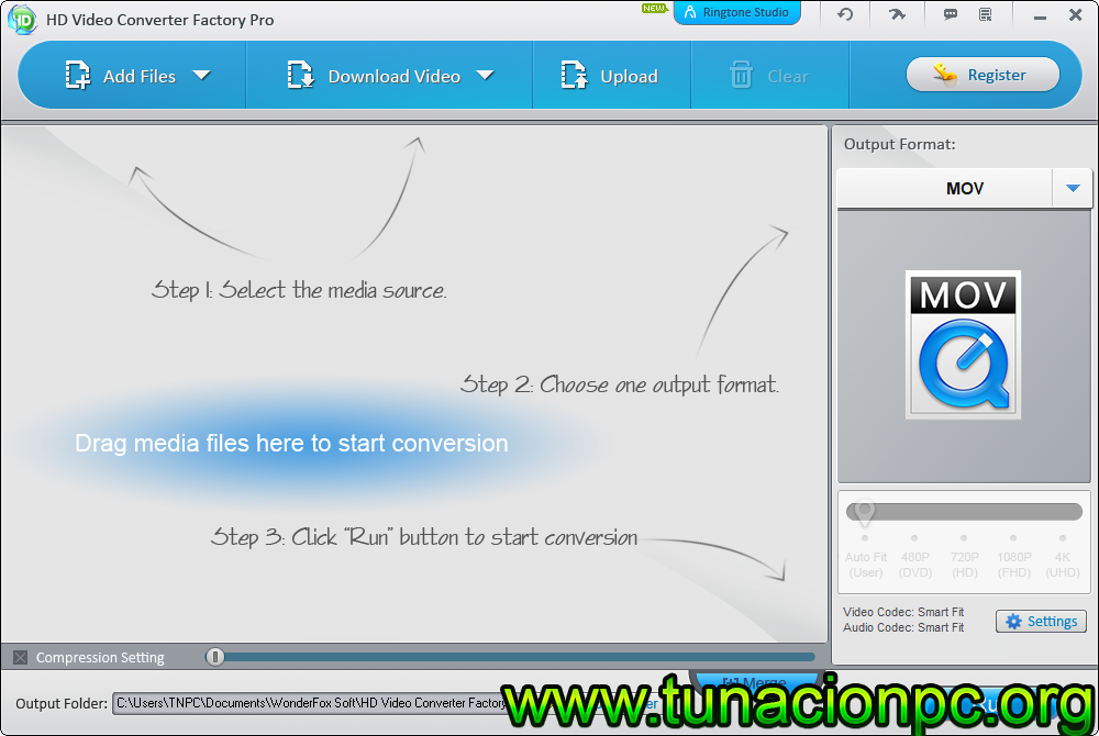 Descargar HD Video Converter Factory Pro