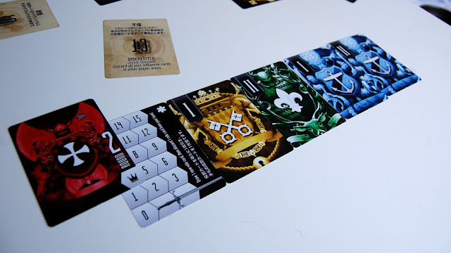 Blood and Fortune card game review
