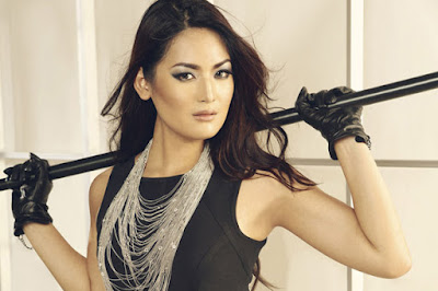 Maria Selena mantan puteri indonesai jadi penyiar dan presenter seksi Wisata malam