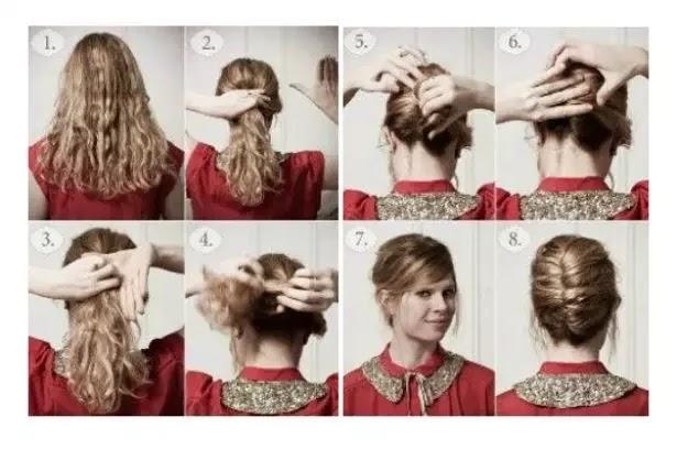 peinados para pelo rizado paso a paso | elainacortez