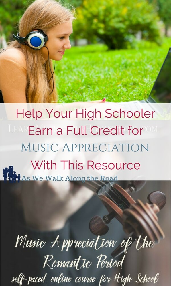 Music appreciation for homeschool high school