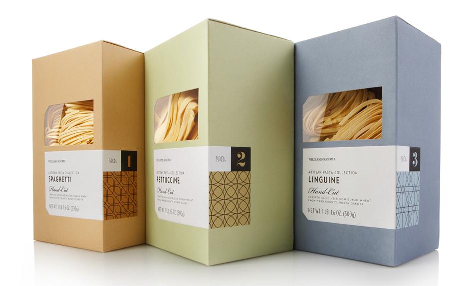 Williams Sonoma Artisanal Pastas On Packaging Of The World