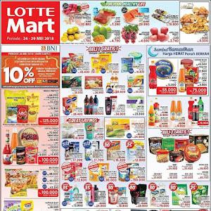 Katalog Promo Lottemart Hypermarket Weekend 24 - 29 Mei 2018