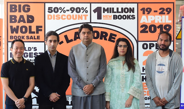 The World's Biggest 24-Hour Book Sale – The Big Bad Wolf Book Sale Opens Its Doors for the First Time in Pakistan
