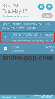 Proses convert video youtube ke mp3