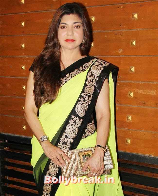 Alka Yagnik, Filmfare Awards 2014 Red carpet Images