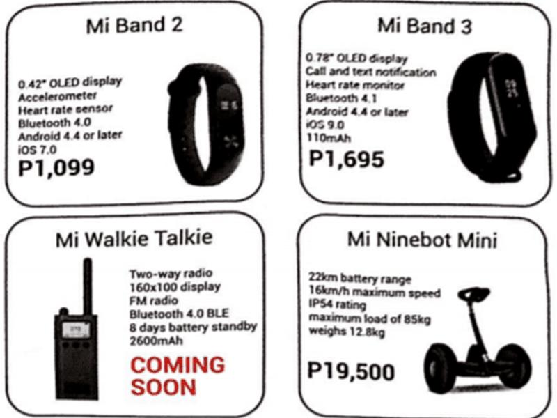 Mi Band 3 specs