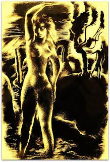 O Anjo em Corpo de Mulher, Macário - João Fahrion, 1940