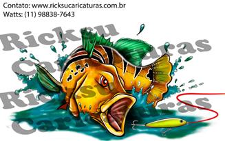 #ricksucaricaturas #caricaturando #anime #manga #cartoon #totem #banner #moldura