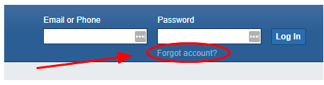 How To Recover Password In Facebook<br/>