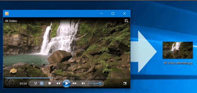 كيفية التقاط صور من الفيديو بجودة عالية بدون برامج في ويندوز 10