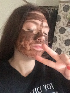 lush chocolate cupcake face mask