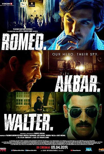 Poster of Romeo Akbar Walter (2019) Full Movie [Hindi-DD5.1] 720p HDRip ESubs Download
