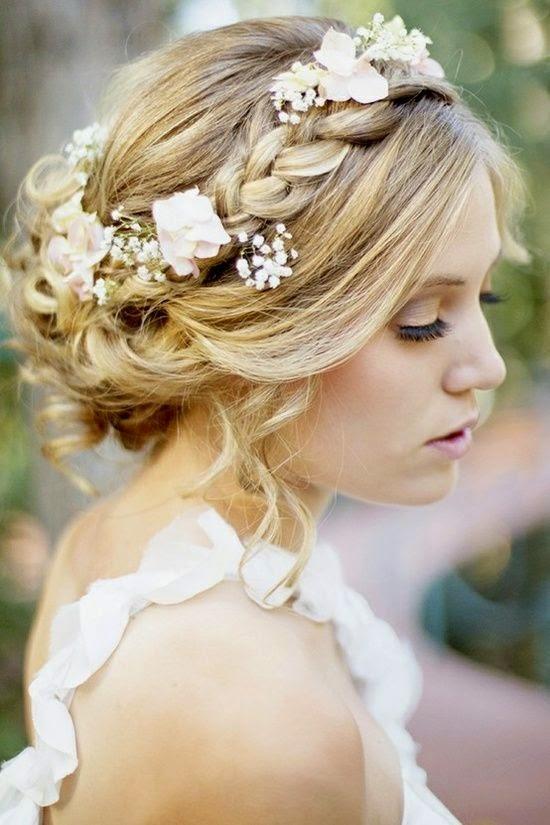Peinados Naturales De Novia - Más de 1000 ideas sobre Peinados De Boda Naturales en Pinterest