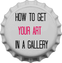how to get your art in a gallery by iramency
