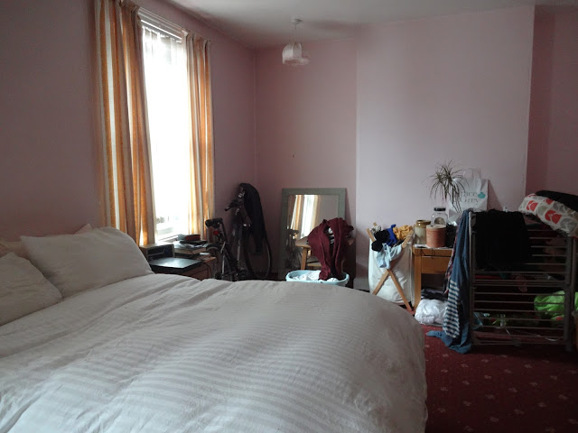 untidy bedroom