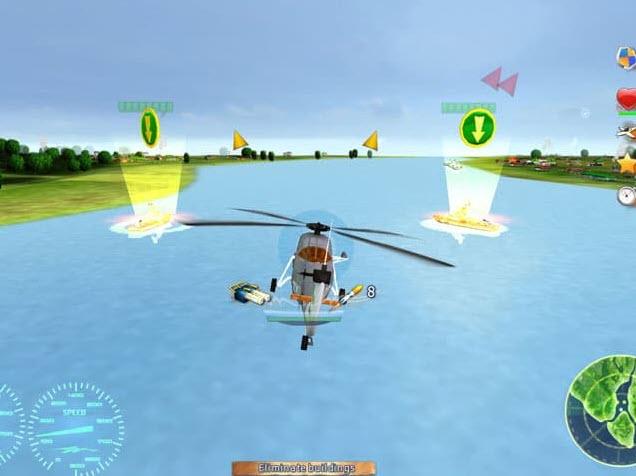 العاب طائرات هليكوبتر للحاسوب