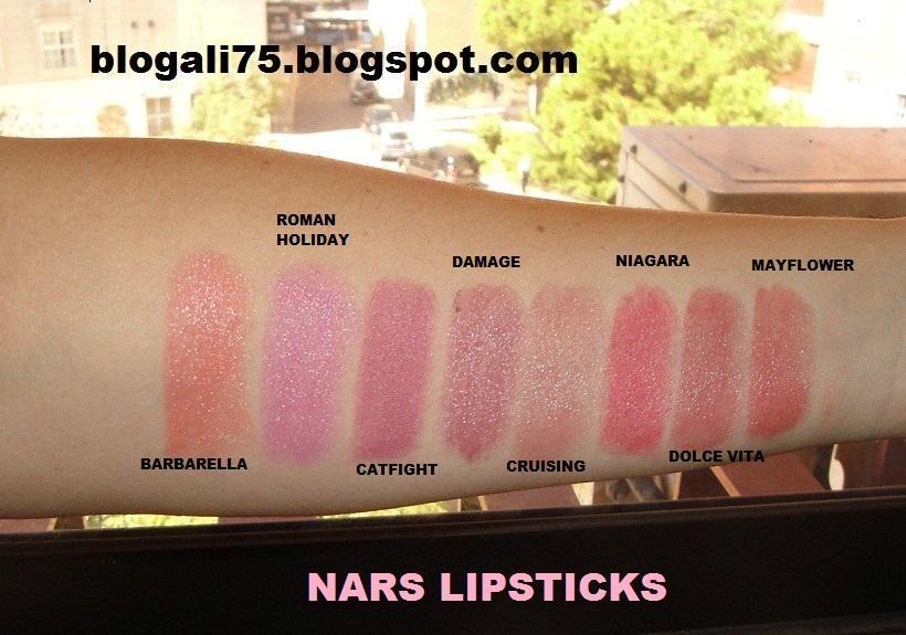 Ali Beauty Blog: NARS Lipsticks (Primera parte) + NARS Lip ...  Ali Beauty Blog...