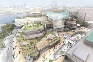 FCBS - designs for Festival Wing on the South Bank Centre