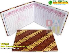 Buku Tamu Batik Murah Set Isi 2