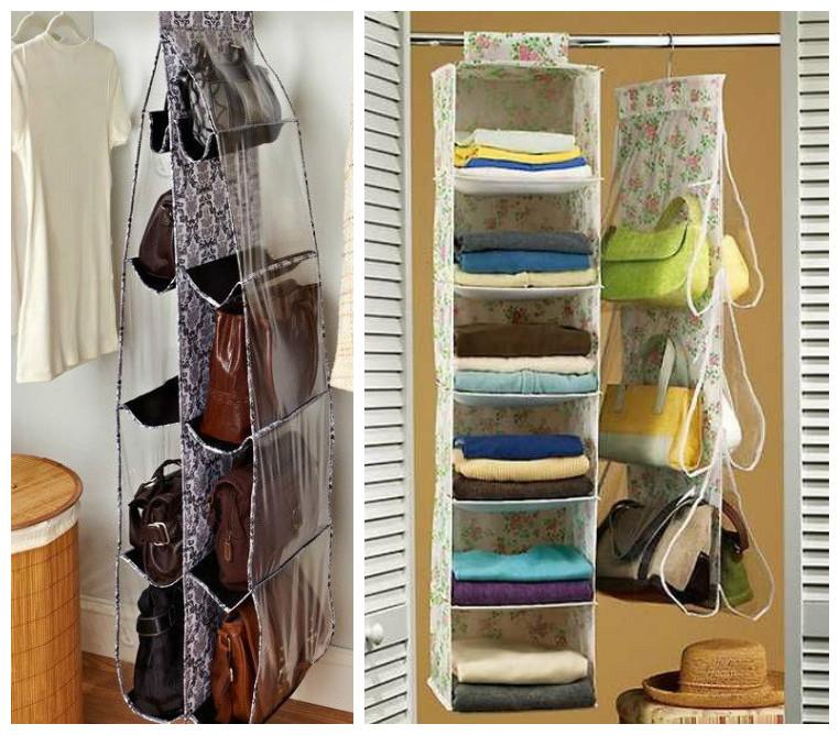 10 maneras ingeniosas de c mo organizar bolsos y carteras