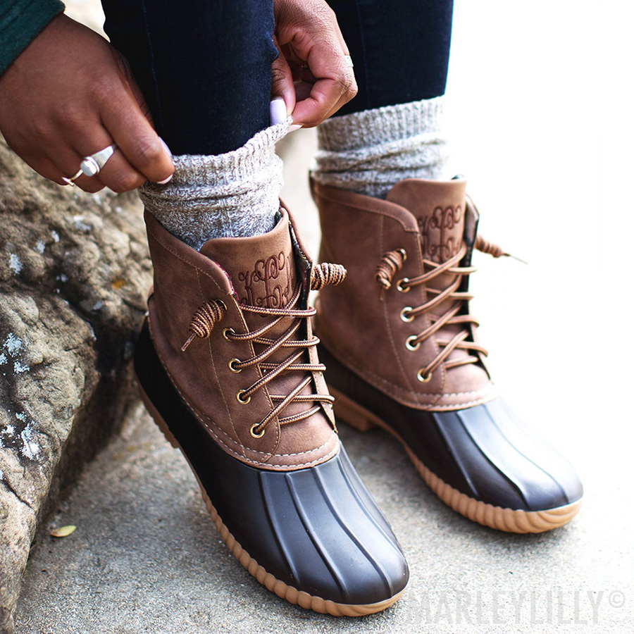 Brown Duck Boots