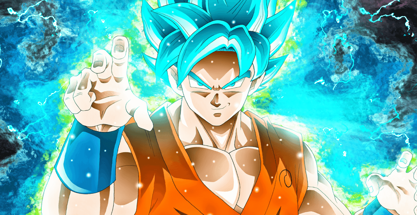 Super Saiyan Blue Goku [Wallpaper Engine Anime]