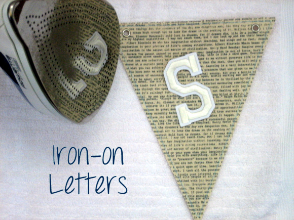 Iron on Letters: Vintage Card Box DIY Project Tutorial | DIY Playbook
